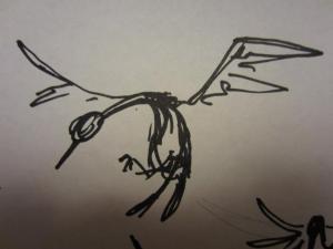 sketch - crane