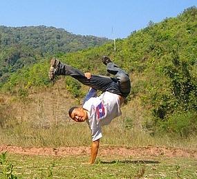 laos kick